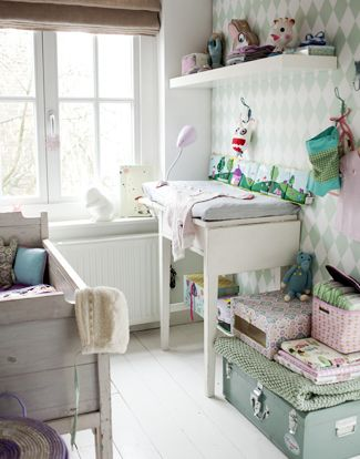 Perfect color for a babyroom