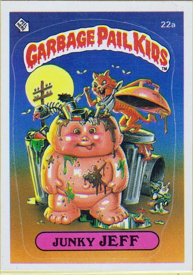 1847 Best Garbage Pail Kids 1980s Images On Pinterest