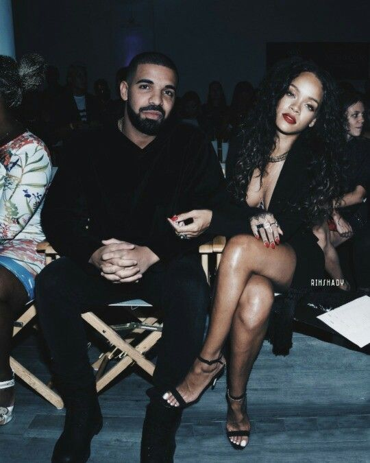 Drake & Rihanna   They are the cutest, and she's blowed af lmao  Pray they stay together and work through all the difficult times, and have gorgeous babies!!! Ha hahaaa