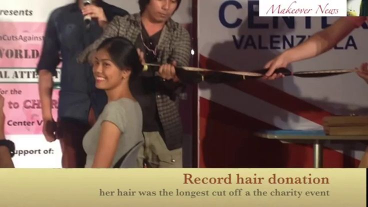 how to cut hair for donation