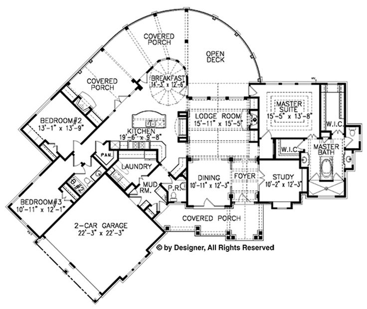 78 best images about cabin floor plans on pinterest for 2500 sq ft log home plans