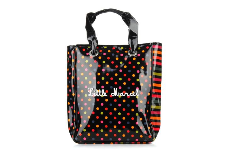 NINO VINYLE Little Marcel (Multicolore) : livraison gratuite de vos Sacs à main NINO VINYLE Little Marcel chez Sarenza