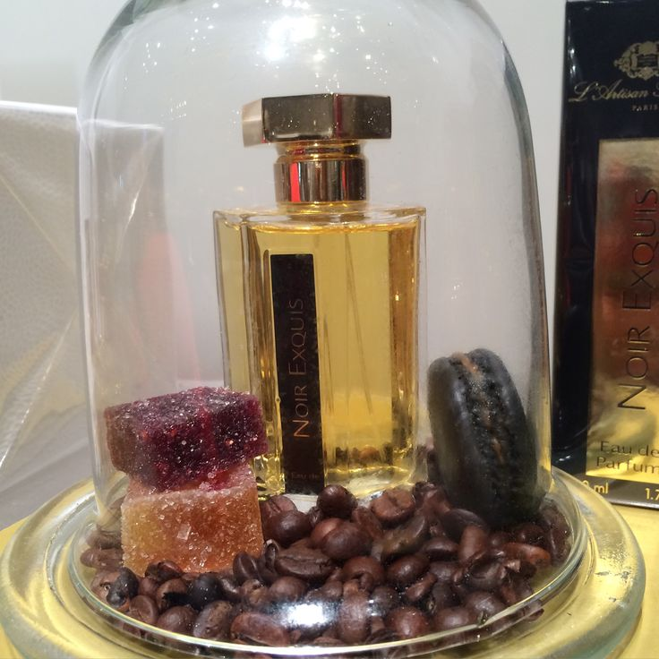 L'Artisan Parfumeur the new fragrance Noir Exquis by Bertrand Duchaufour