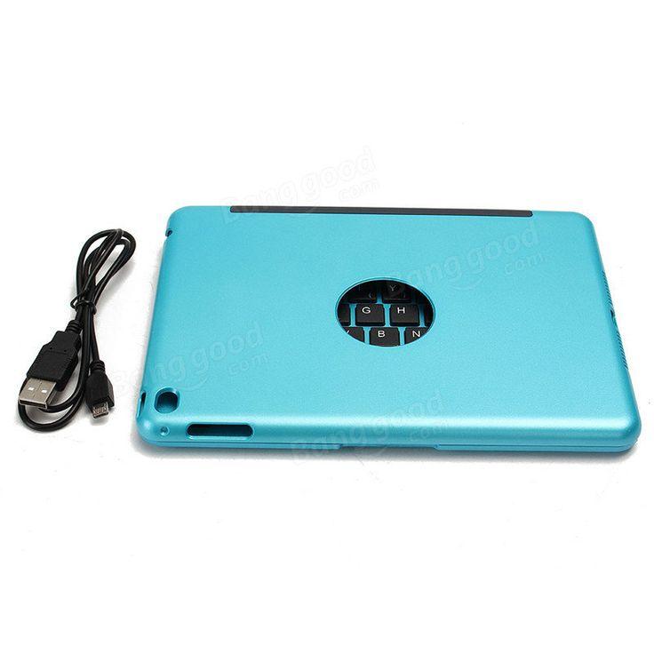 For Apple iPad Mini 4 Folio Rechargeable Wireless Bluetooth Keyboard Smart Case Cover Sale - Banggood.com