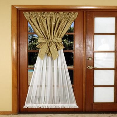 If You Are Going To Have A Curtain On A French Door It