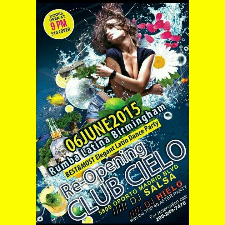 ESTE SABADO TODOS LOS CAMINOS CONDUCEN A   BAILAR SALSA-BACHATA-CUMBIA-MERENGUE Y MAS  CON Rumba Latina Birmingham y la musica de Djsalsa y DESPUES DE LAS 2:00am EL AFTER PARTY con DJ HIELO y su Top 40 en Club Cielo205  Puertas habren a las 9:00.......TE ESPERAMOS!!!!!
