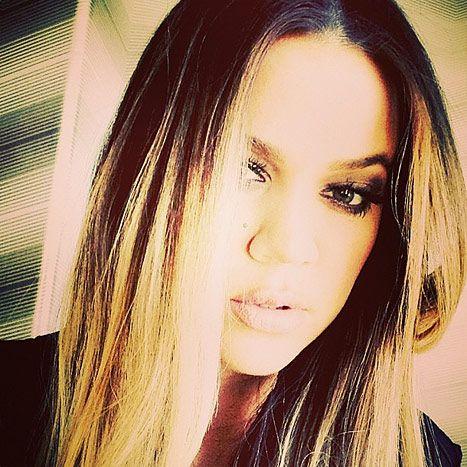 Khloe Kardashian shares a sultry selfie . . .