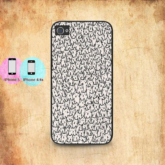 a lots cats cat pattern unique iphone case for iphone by undipshop, $9.99