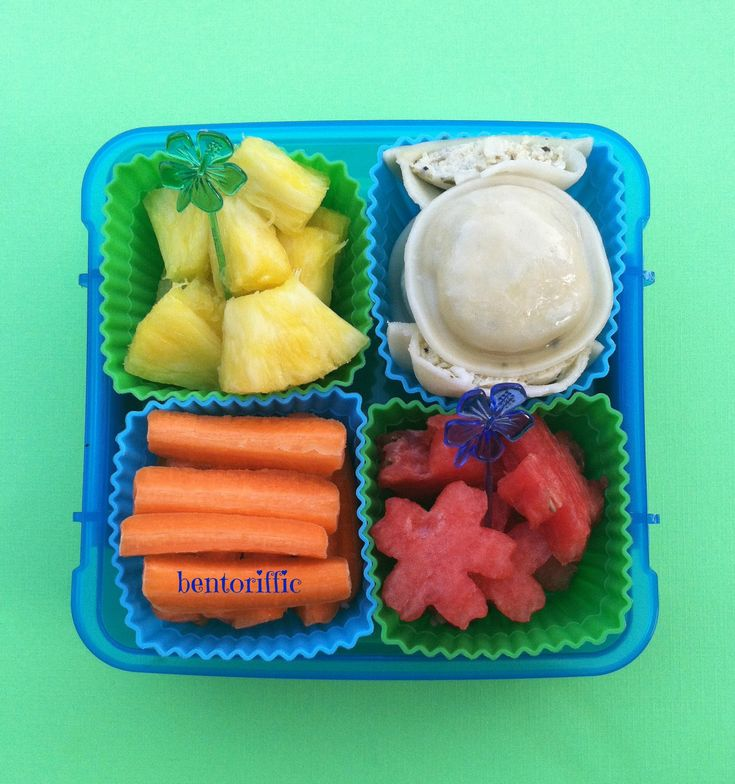 Ravioli sistema bento-bentoriffic plant based vegan lunchbox  Great way you can use our personalised Sistema Klip-it containers for a bento style lunch - love it : )