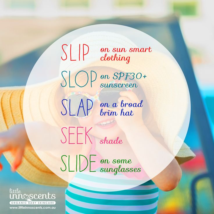 Sun Smart Babies - Being sun smart with your children is no longer just the ol' Slip, Slop, Slap! Evidence suggests that childhood sun exposure contributes significantly to your lifetime risk of skin cancer.   #sunscreen #naturalsunscreen #sunprotection #babies #babycare #organicbaby