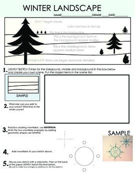 best 25 landscape art lessons ideas on pinterest kids art lessons winter art and 3d landscape. Black Bedroom Furniture Sets. Home Design Ideas