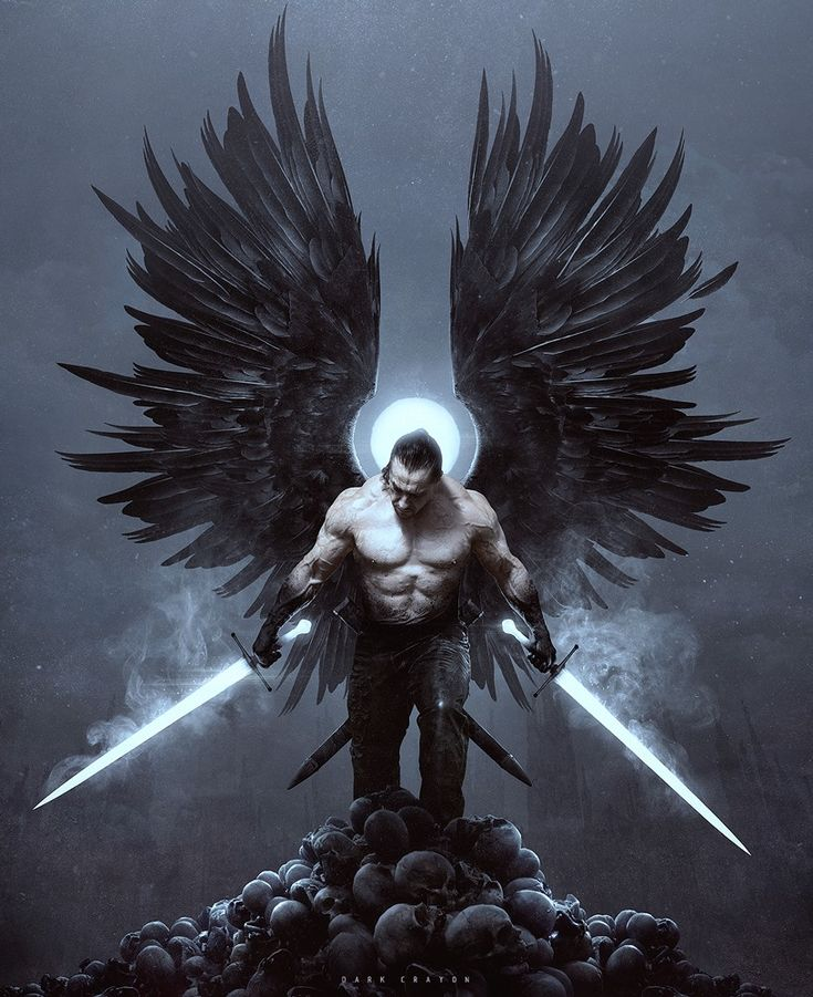 Ангел с мечами картинки
