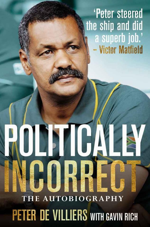 """Peter de Villiers, the Ex-Springbok Rugby Coach, launched his controversial book """"Politically Incorrect"""" with Random House Struik on 26 June 2012."""