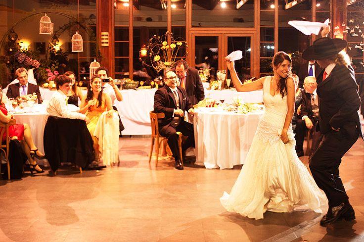 Cueca - traditional Chilean wedding dance