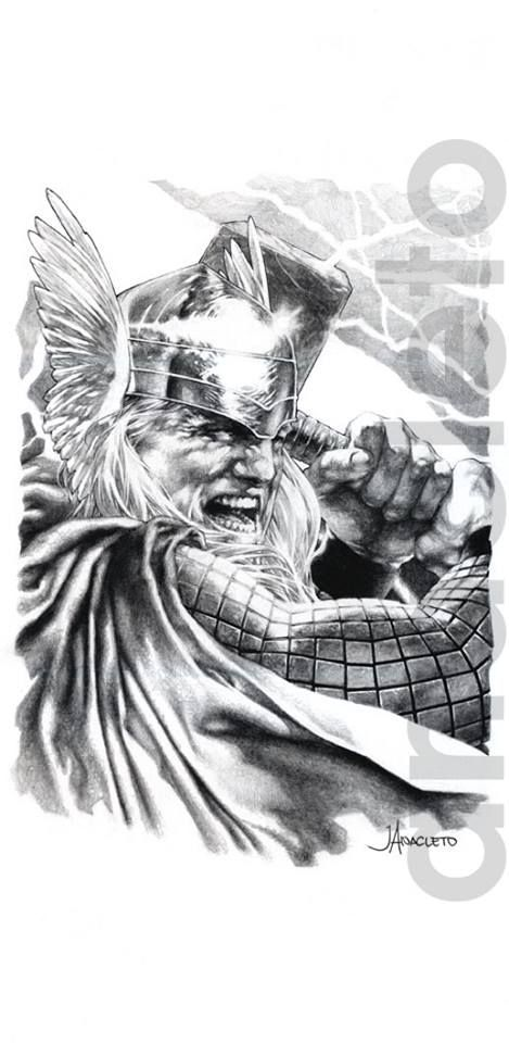 Thor by Jay Anacleto *