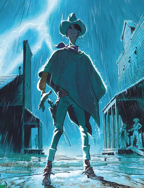 Lucky Luke version Matthieu Bonhomme se dévoile !