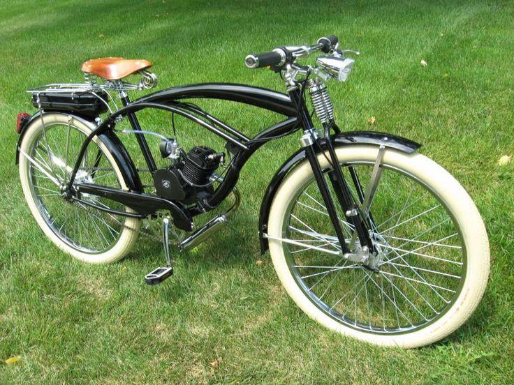 http://custommotoredbicycles.com/1inch_forks_springer_choppertriple_treedisc_brake