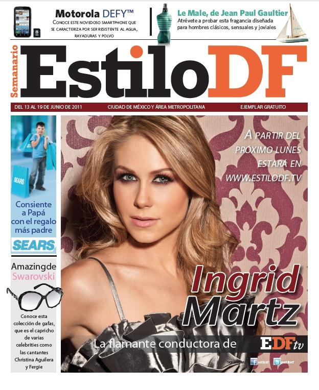 Ingrid Martz  13 junio 2011 - mexicana