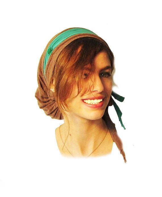 Tichel Hair Snood Chemo Hat Chemo Cap Chemo by ShariRoseShop