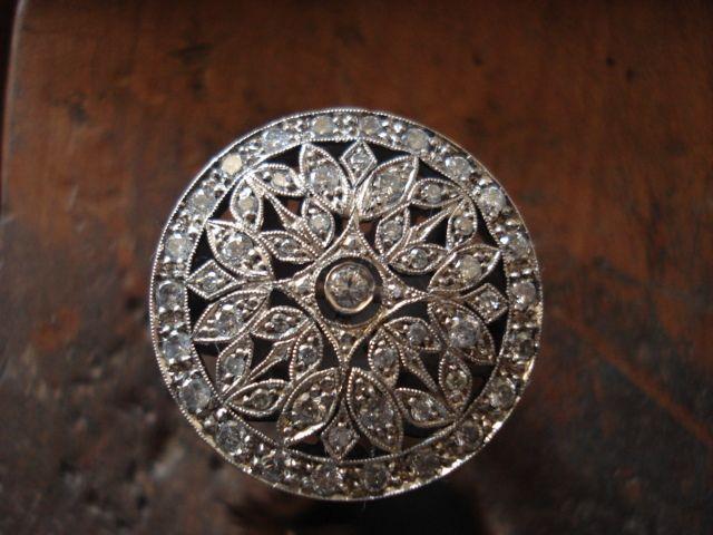 anillo art deco