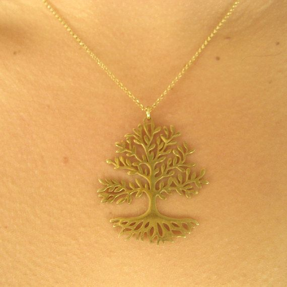 20% off coupon code :GIFT16 Tree of life pendant by TzenNikoletta