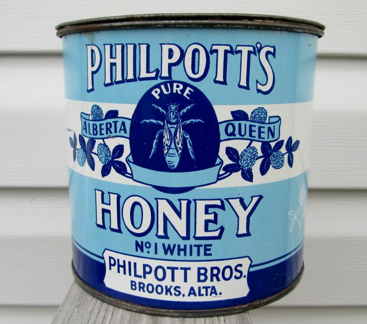 45 Best Ideas About Honey Tins Vintage On Pinterest