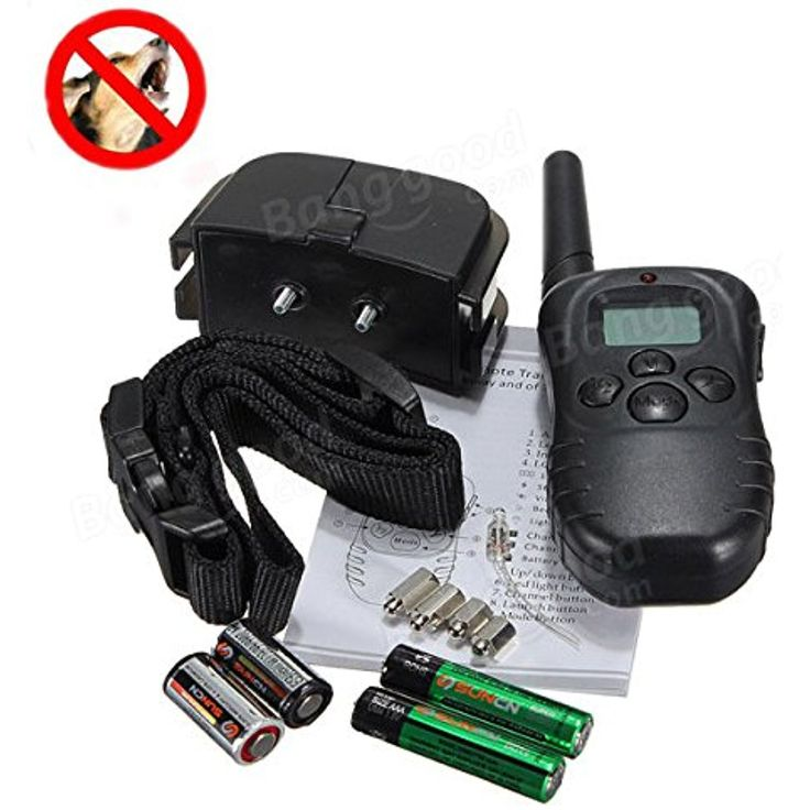 LCD Display Remote Dog Training Stop Bark Collar 100 Levels @ You can click image for more details. (This is an affiliate link and I receive a commission for the sales)