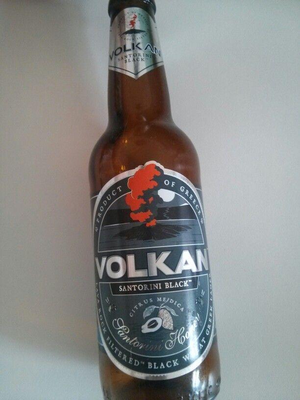 "Volkan Santorini Black by """" (Greece) #beers #craftbeer #greece"