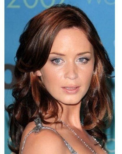 Emily kör kumral kahverengi kumral bakır saç renkleri