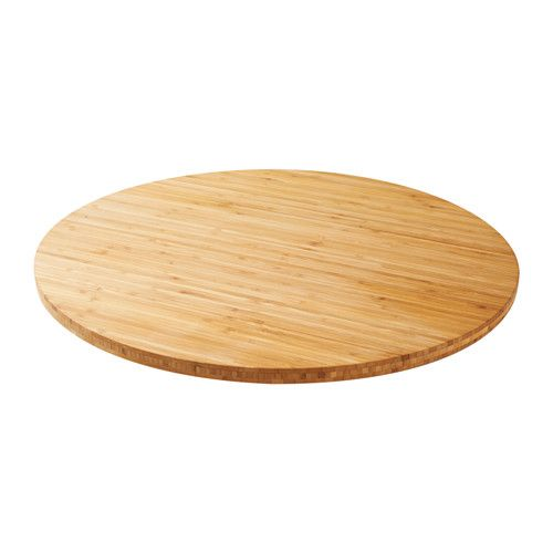 ELRITSA Lazy Susan IKEA Turning function in base makes it easier to serve from.