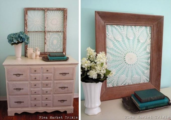 DIY Fabric & Paper Doily Crafts | Doilies Crafts, Doilies and Crafts