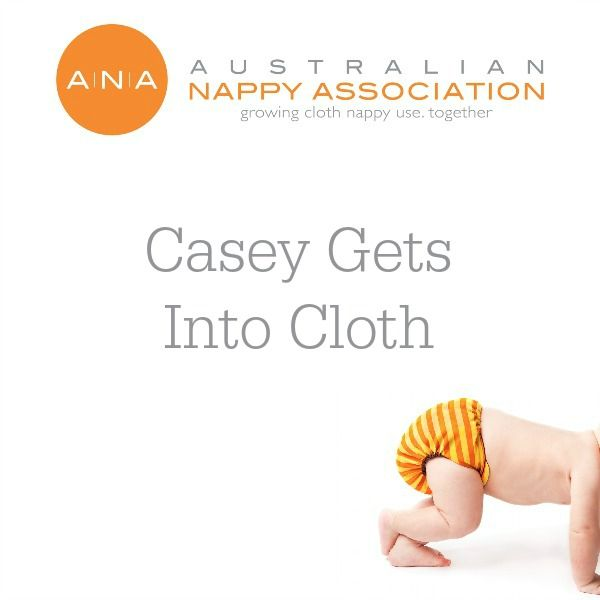 Casey gets into cloth #CityofCasey #clothnappies #clothnappyexpo