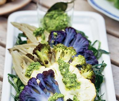 Recept: Ugnsstekt blomkål & fänkål med salsa verde