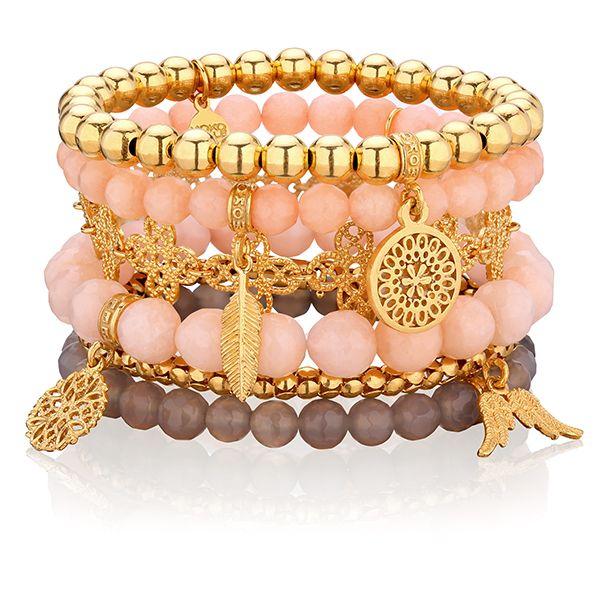 MORELOWY SAD #mokobellejewellery #mokobelle #bracelet #buythelook #set #fashion #trend #gold #wing