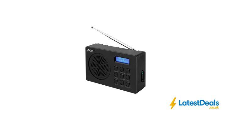 LOGIK L2DAB16 Portable DAB/FM Radio, £19.99 at Currys PC World