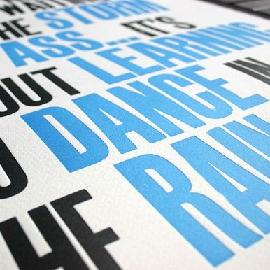 From Blush printing.: Letter Press, Blush Printing, Letterpress Woodtype