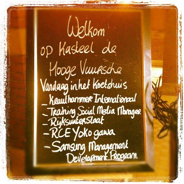 Kasteel de Hooge Vuursche Training Social Media Manager