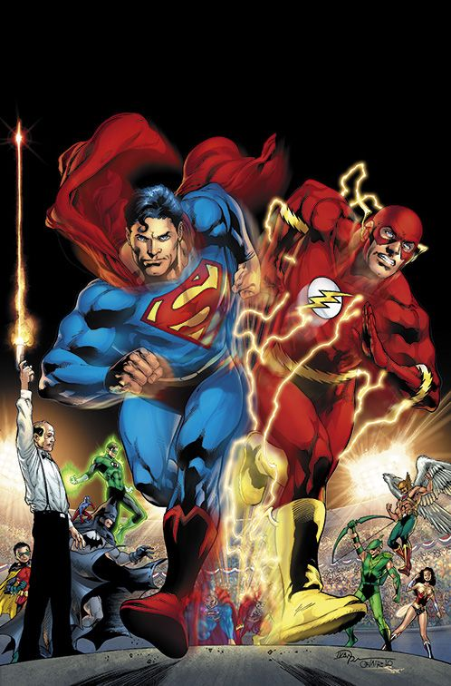 SUPERMAN vs. THE FLASH by •Ivan Reis   comic book and ...