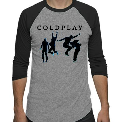 Coldplay baseball unisex shirt, can customize. From their original clothing website.