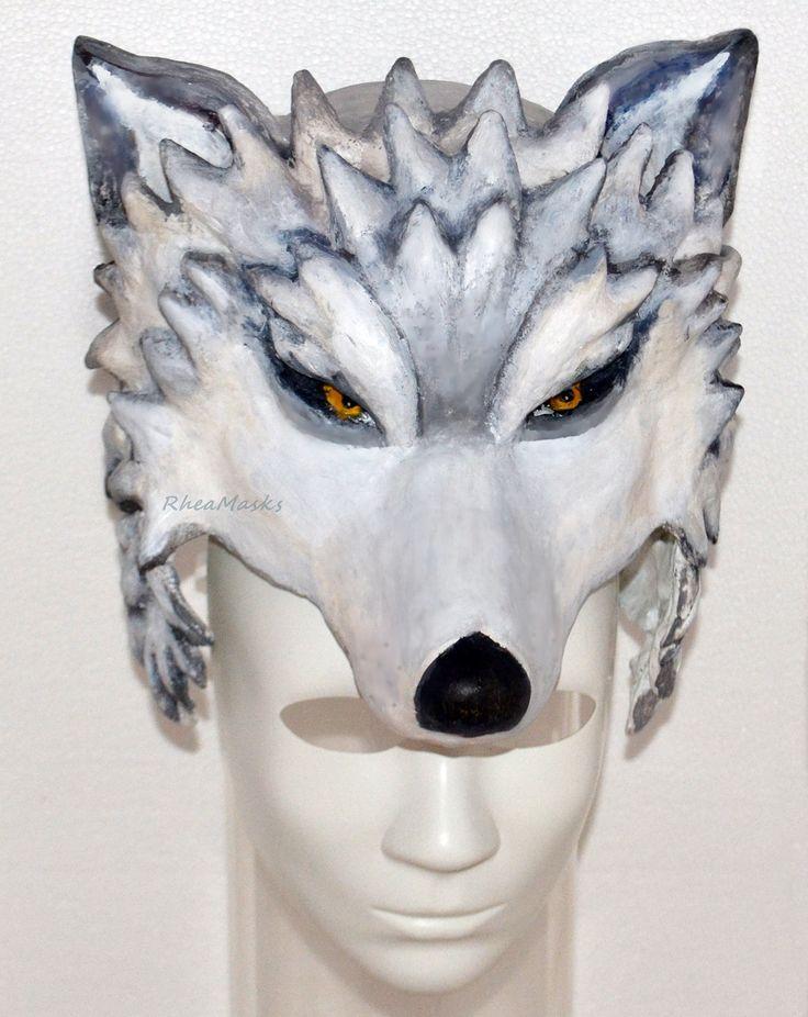Paper mache Headdress, Head mask