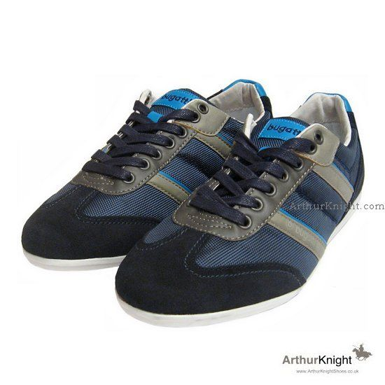 Bugatti Sneakers Navy Blue Trainers