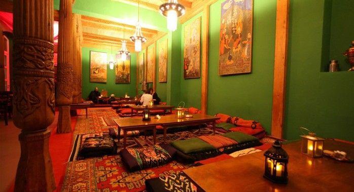 Tadshikische Teestube - Speisekarte