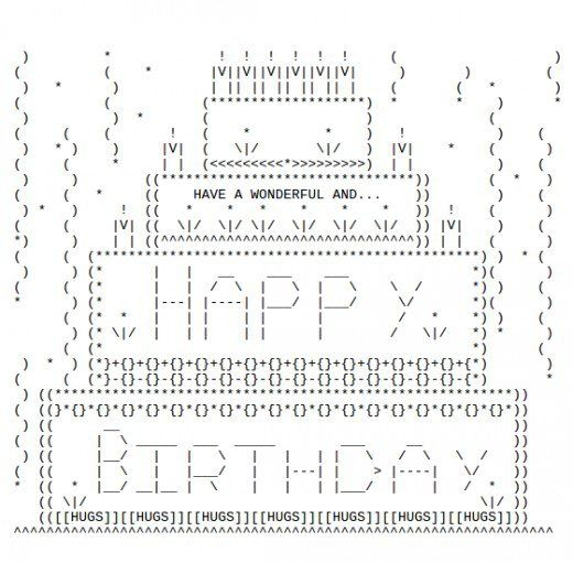 Les 25 meilleures id es de la cat gorie ascii happy for Ascii text decoration