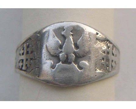sygnet patriotyczny II Korpus 1940 Jerozolima odznaki PSZ artViola - Real Egipt Zachód Kair | artViola