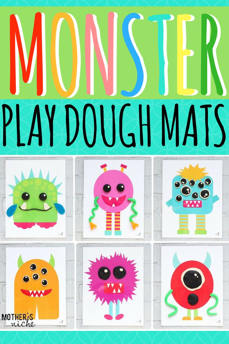 Our play dough mats are such a hit at our house that we just had to create another version of them: MONSTER PLAY DOUGH ACTIVITY MATS! Aren't they adorable?? Monster Play Dough Activity Mats Want a silly, fun and creative way to use your play dough? These little Monsters are a huge hit at our …