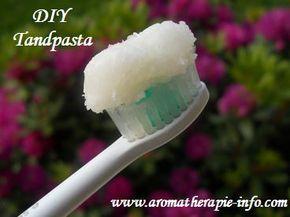 Maak je eigen tandpasta zonder schadelijke stoffen en met natuurlijke etherische olie en kokosolie.