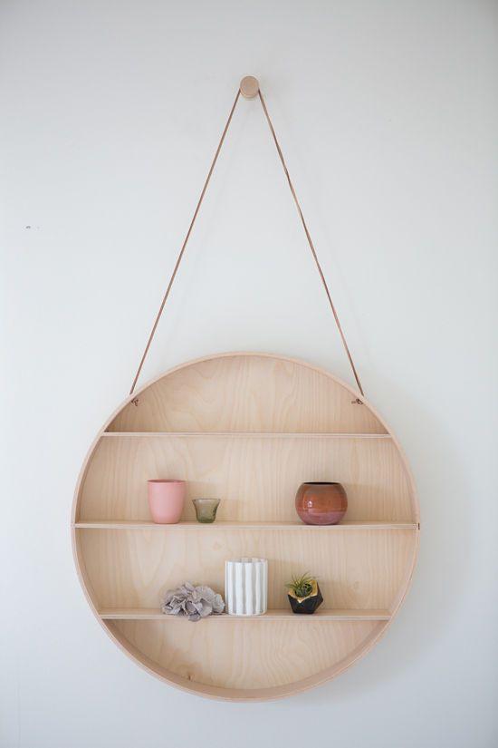 circle shelf. //