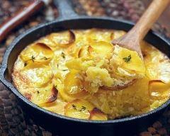 Gratin de pommes de terre au vin blanc (facile, rapide) - Une recette CuisineAZ