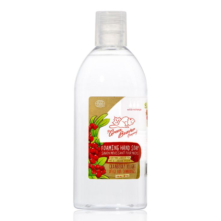 Cranberry Del. Foaming H W Refill | Green Beaver