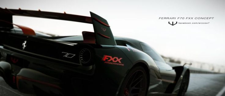 Ferrari Fxxk  Concept